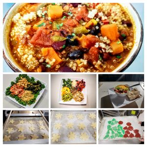 marti miller cookies, salads, soups and grain bowls